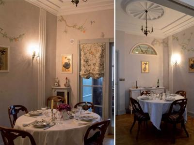 Wnętrze utrzymane w stylu Art Deco. Polska.