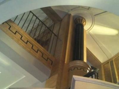 Wnętrza utrzymane w stylu Art Deco w prywatnej rezydencji. Polska.