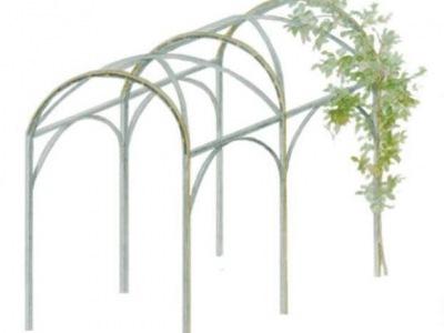 Projekt ogrodowego bindaża.