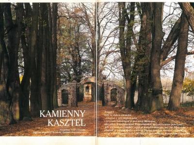 """Dom i Wnętrze - nr. 2 1997 """"Kamienny kasztel"""" cz. 1"""