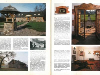"""KaDom i Wnętrze - nr. 2 1997 """"Kamienny kasztel"""" cz. 2"""