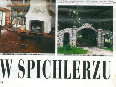 """Rzeczpospolita - Magazyn - 3 grudnia 1998 """"W spichlerzu"""""""