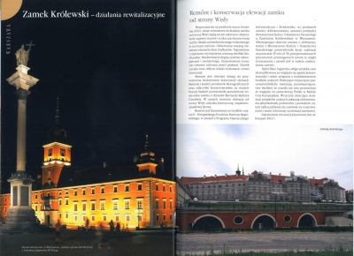 """Renowacje i Zabytki - nr. 3 2012 """"Zamek_Królewski - Działania Rewitalizacyjne"""" cz. 1"""