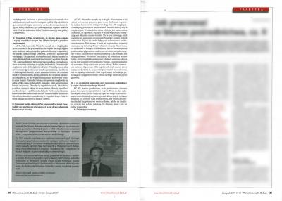 """Nieruchomości C. H. Beck - listopad 2007  """"Dom rękawiczka dla duszy"""" cz. 2"""